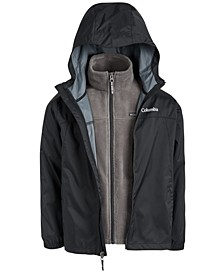 Big Boys Hooded Glennaker Interchange Jacket