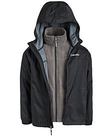 Big Boys Hooded Glennaker Interchange Jacket