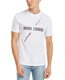Men's Foil Stripe Logo T-Shirt