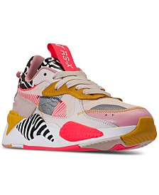 Puma Women's Rs-X Unexpected Mixes Casual Sneakers from Finish Line