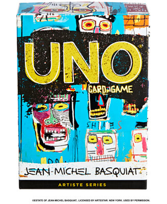 Uno Artiste Series No. 1, Uno® Card Game Featuring Jean Michel Basquiat, With 112 Card Deck by General