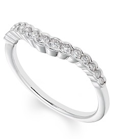 Diamond (1/4 ct. t.w.) Band in 14K White Gold