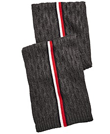 Men's Ski Patrol Striped Scarf