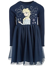 Little Girls Frozen Elsa Skater Dress