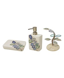 Mosaic Leaves 3-Pc. Bath Bundle