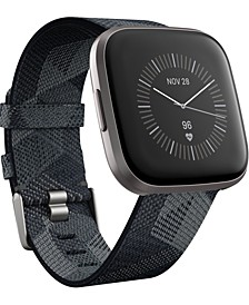 Versa 2 Smoke Fabric Strap Touchscreen Smart Watch 39mm - A Special Edition