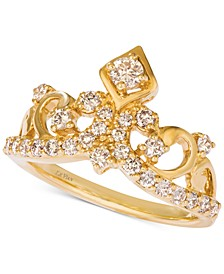 Nude Diamond™ Tiara Ring (3/4 ct. t.w.) in 14k Gold