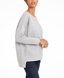 Quilted Step-Hem Tunic, Created For Macy's