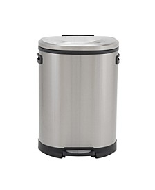 Stainless Steel 50L Aspen Oval Step Trash Can
