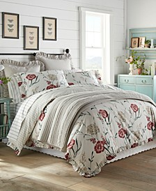 Cottage Garden Full/Queen Duvet Cover Set