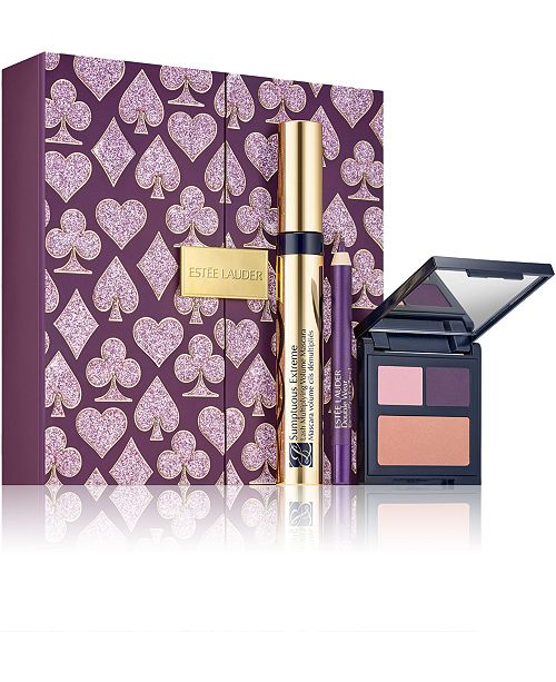 Estee Lauder Limited Edition 3-Pc. Casino Royale Amethyst Eyes Gift Set