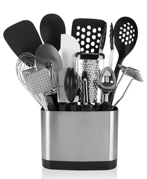OXO 15-Piece Kitchen Utensil Set