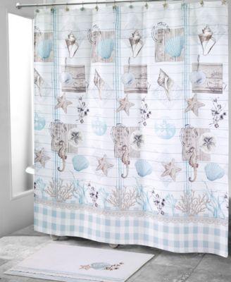 Farmhouse Shell Shower Curtain