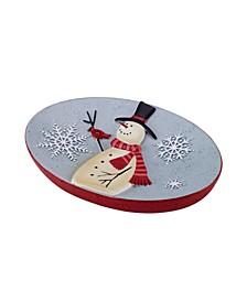 Tall Snowman Soap Dish