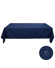 "Square Spillproof Wrinkle Resistant Tablecloth, 54"" W x 54"" L"