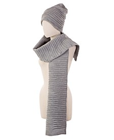 Slouch Beanie and Scarf 2 Piece Set
