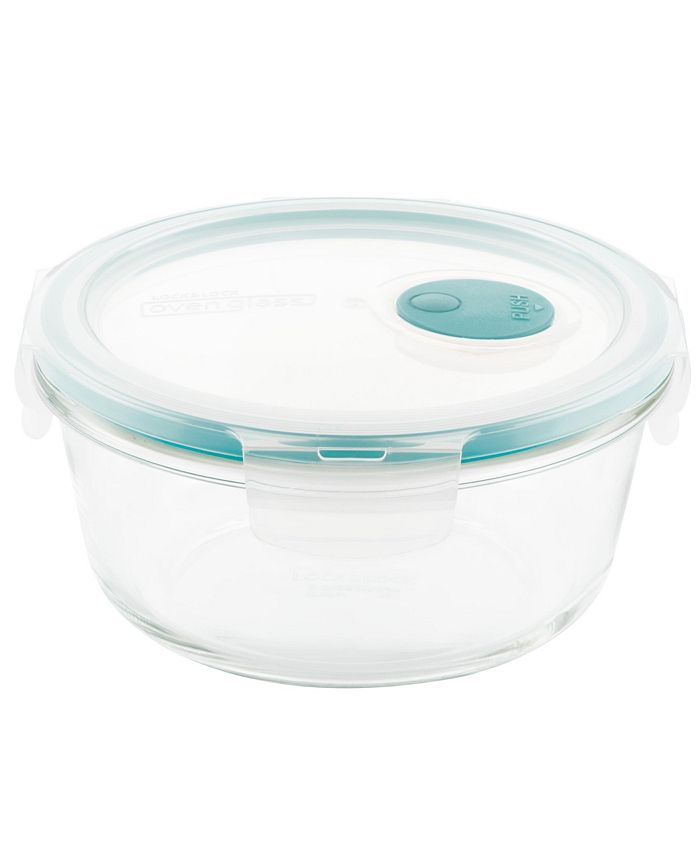 Lock n Lock - Purely Better Vented Glass 22-Oz. Food Storage Container