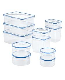 Easy Essentials 22-Pc. Food Storage Container Set