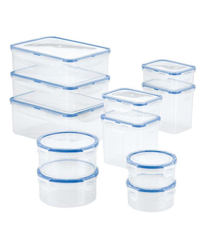 Lock n Lock - Easy Essentials Rectangular 22-Pc. Food Storage Container Set