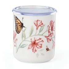 Lenox Butterfly Meadow  Kitchen Lidded Jar, Created for Macy's