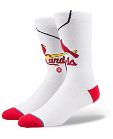 St. Louis Cardinals Home Jersey Series Crew Socks