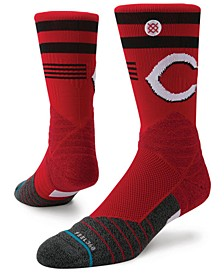 Cincinnati Reds Diamond Pro Authentic Crew Socks