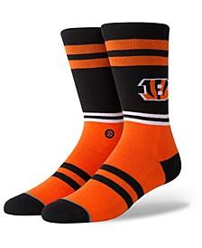 Cincinnati Bengals Logo Crew Socks