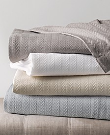 Egyptian Cotton Blanket Collection, Created for Macy's