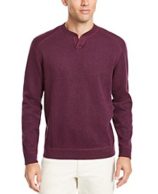 Men's Flip Side Classic-Fit Reversible Split-Neck Sweater, Created For Macy's