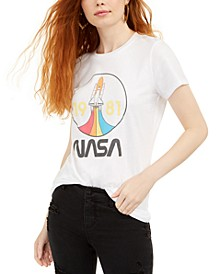 Juniors' 1981 NASA Graphic T-Shirt