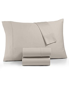 AQ Textile Optimal Performance Stay fit 4-Pc King Extra Deep Pocket Sheet Set, 625 Thread Count Cotton Blend