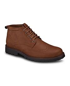 Men's Wingtip Chukka Boots
