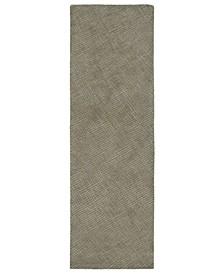 """Textura TXT06-75 Gray 2'6"""" x 8' Runner Rug"""
