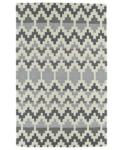 Kaleen Lakota LKT03-75 Gray 2' x 3' Area Rug