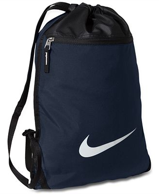 Nike Team Training Gymsack Bag - Accessories & Wallets - Men - Macy's