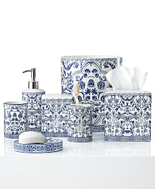 Cassadecor Damask Bath Accessory Collection