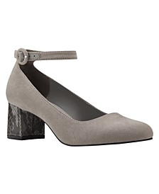 Odear Low Block Heel Pumps