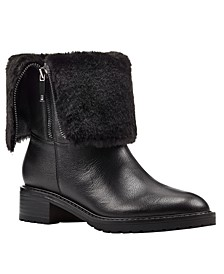 Cassy Faux Fur Booties