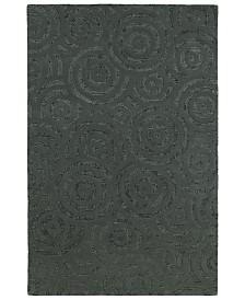 Kaleen Stesso SSO08-38 Charcoal 2' x 3' Area Rug