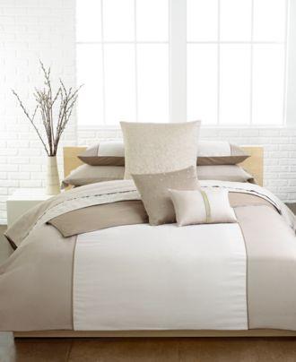 Calvin Klein Champagne 3 Pc Bedding Collection Bedding