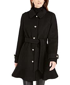 Skirted Belted Coat