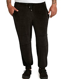 MVP Collections Men's Big & Tall Velour Jogger Pants
