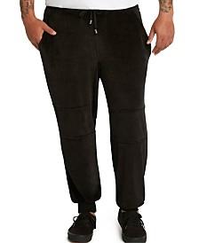 MVP Collections Men's Big & Tall Velour Jogger Pants