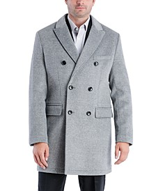 Men's Perrington Classic-Fit Double Breasted Top Coat