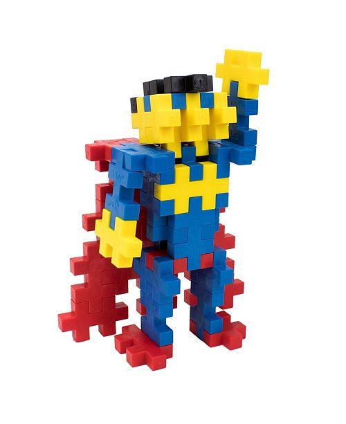 Plus-Plus Instructed Set Mega Maker - Superhero