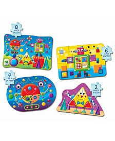 The Learning Journey My First Puzzle Sets 4 in a Box Puzzles- Shapes