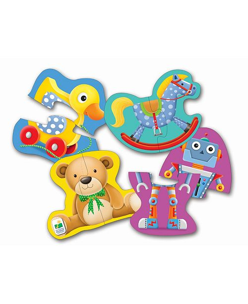 The Learning Journey My First Shaped Puzzles- My Toys
