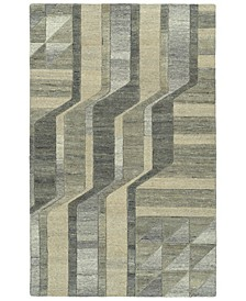 "Alzada ALZ02-49 Brown 5' x 7'9"" Area Rug"