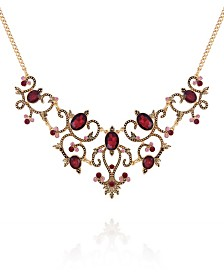 Nanette Nanette Lepore Beautifully Berry Statement Necklace