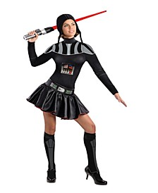 BuySeason Women's Star Wars Female Darth Vader Costume